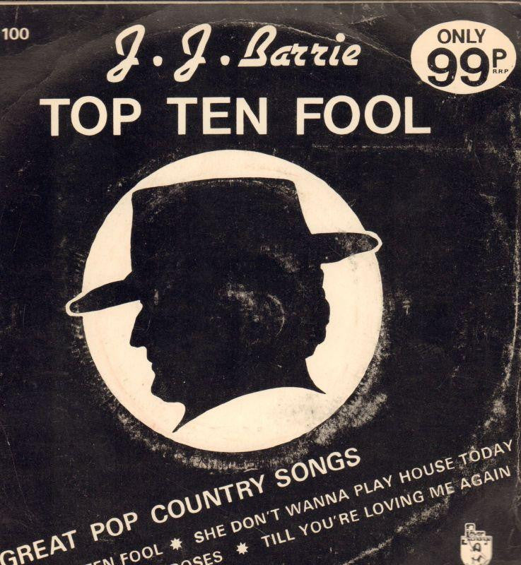 "J.J Barrie-Top Ten Fool-Power Exchange-7"" Vinyl P/S"