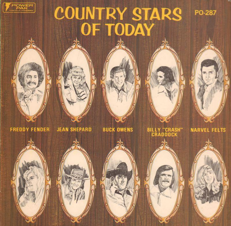 Various Country-Country Stars Of Today-Power Pak-Vinyl LP