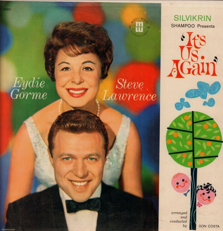 Steve Lawrence-It's Us Again-United Artist-Vinyl LP