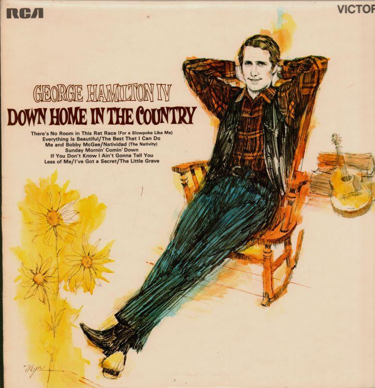George Hamilton IV-Down Home in The Country-RCA-Vinyl LP