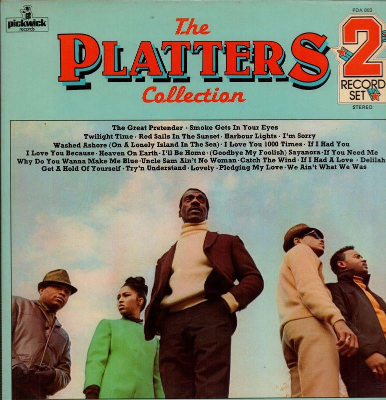 "The Platters-The Collection-Pickwick-2x12"" Vinyl LP Gatefold"