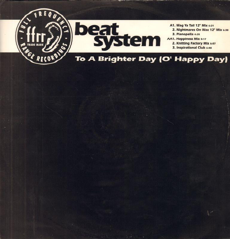 "Beat System-To A Brighter Day-FFRR-12"" Vinyl"