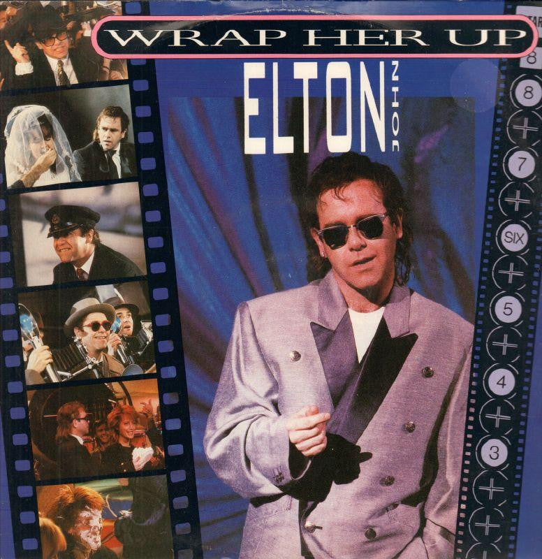 "Elton John-Wrap Her Up-Rocket Record-12"" Vinyl P/S"