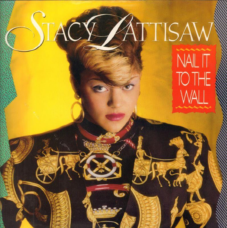 "Stacy Lattisaw-Nail It To The Wall-Motown-12"" Vinyl P/S"