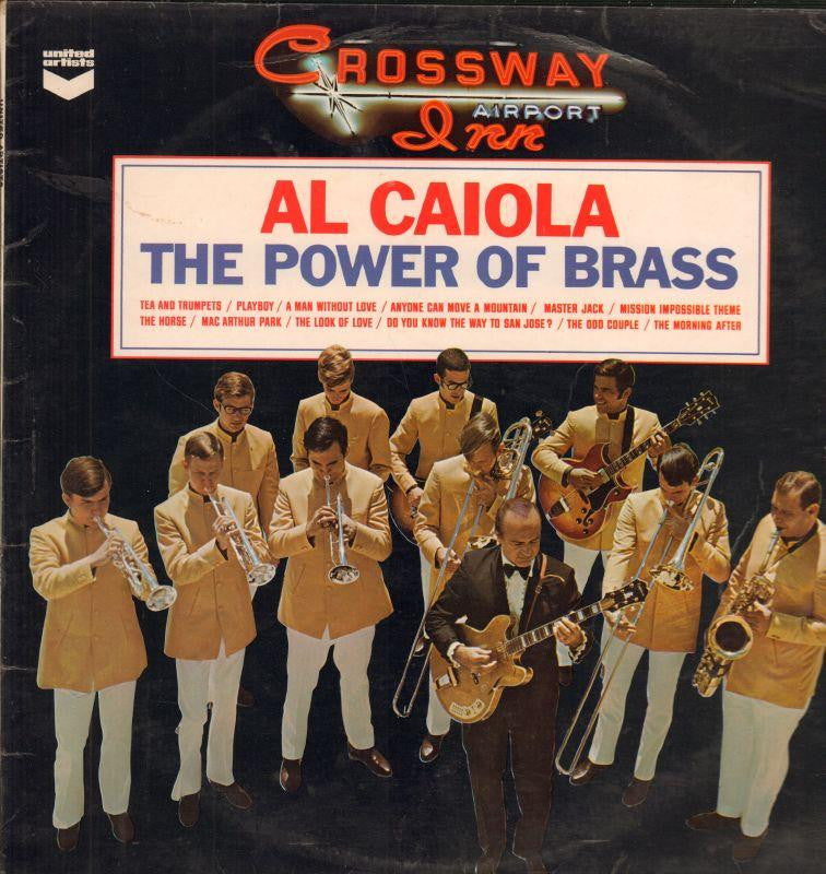 Al Caiola And His Orchestra-The Power Of Brass-United Artist-Vinyl LP