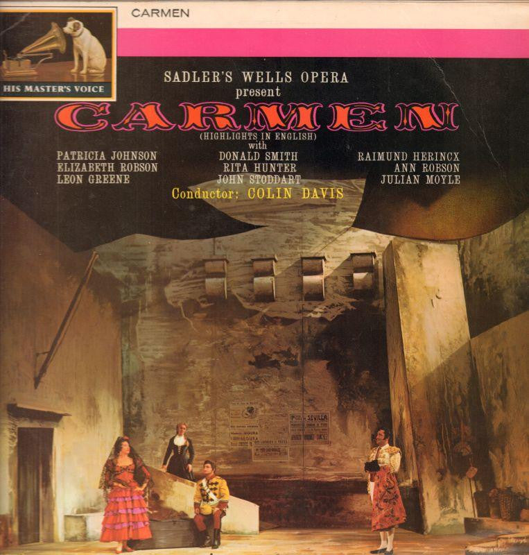 John and Ross Harding-Carmen-HMV-Vinyl LP