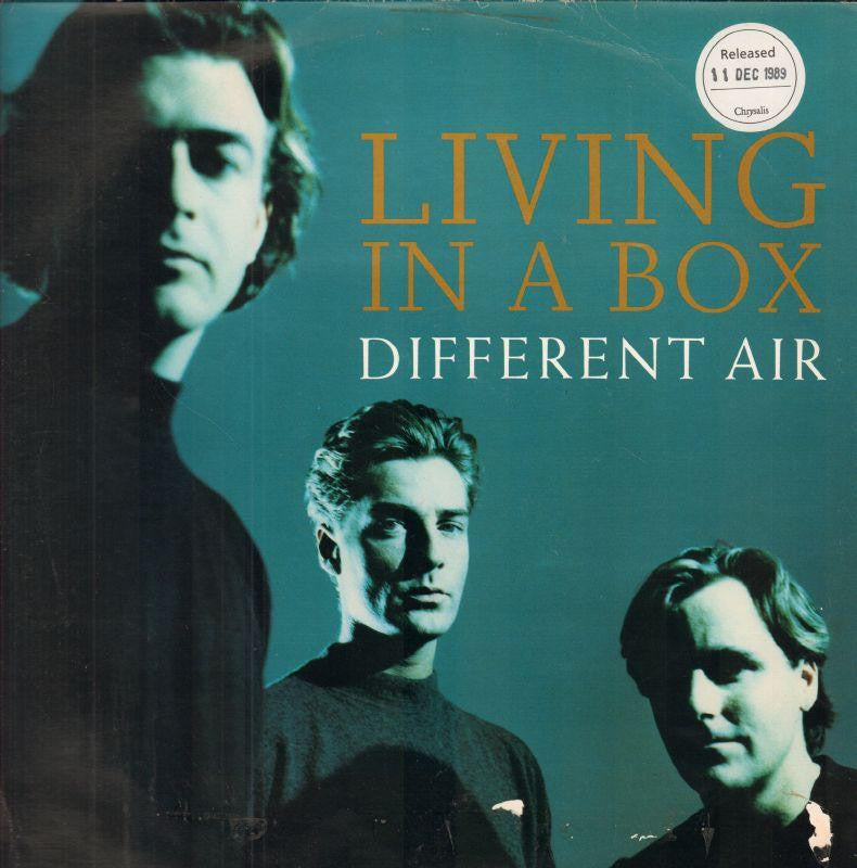 "Living In A Box-Different Air-Chrysalis-12"" Vinyl P/S"