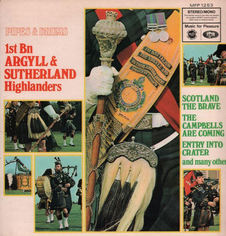 1st Batillion ofArgyll & Sutherland-Scotland The Brave The Campbells Are Coming-MFP-Vinyl LP