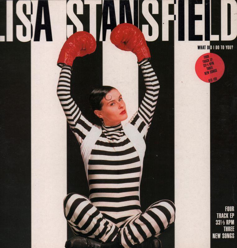 "Lisa Stansfield-What Did I Do To You? EP-BMG Records-12"" Vinyl P/S"