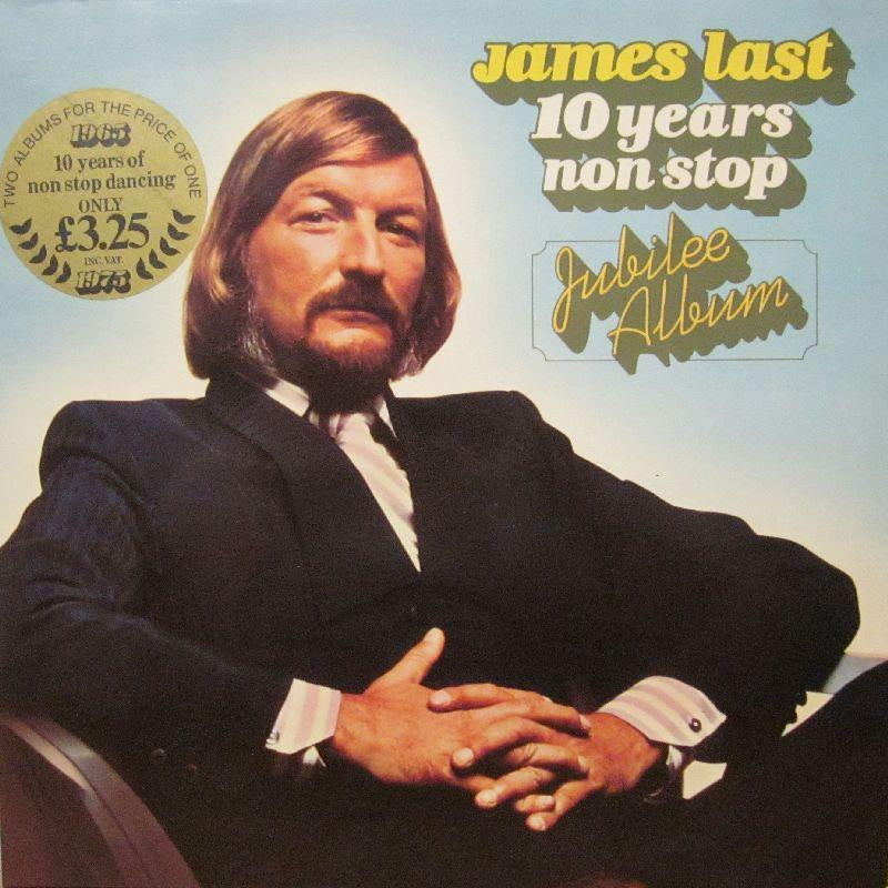 "James Last-10 Years Non-Stop Jubilee Album-Polydor-2x12"" Vinyl LP Gatefold"