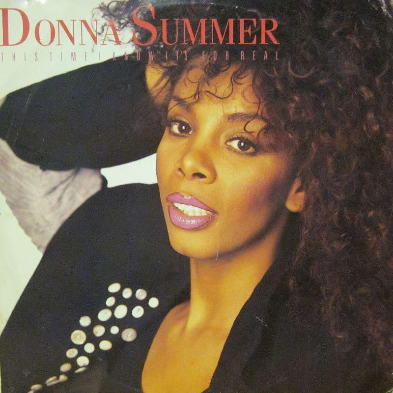 Donna Summer-This Time I Know It's For Real-Warner-Vinyl LP