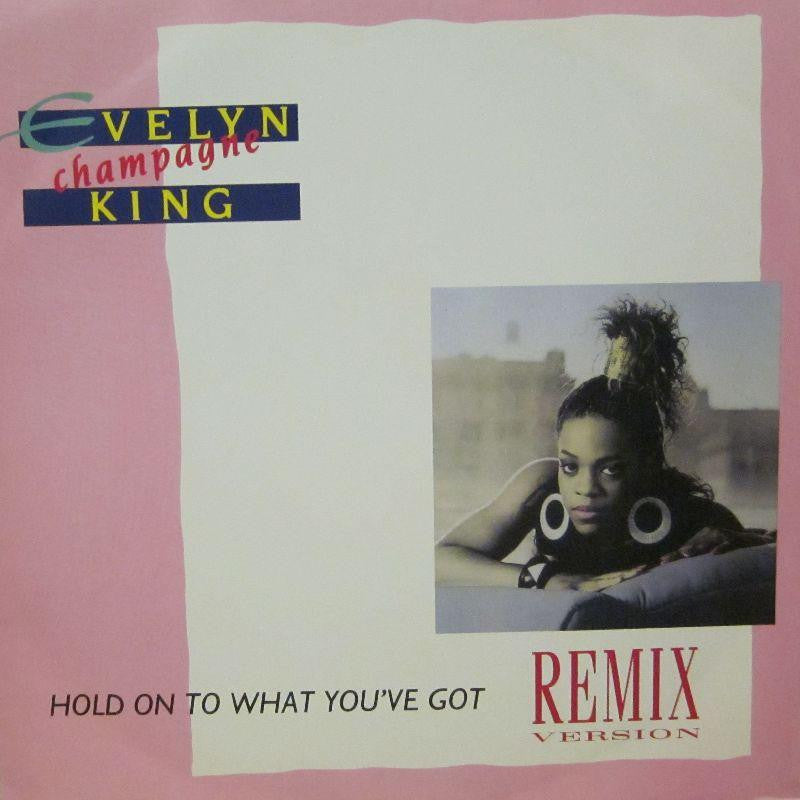 "Evelyn King-Hold On To What You've Got-EMI-12"" Vinyl"