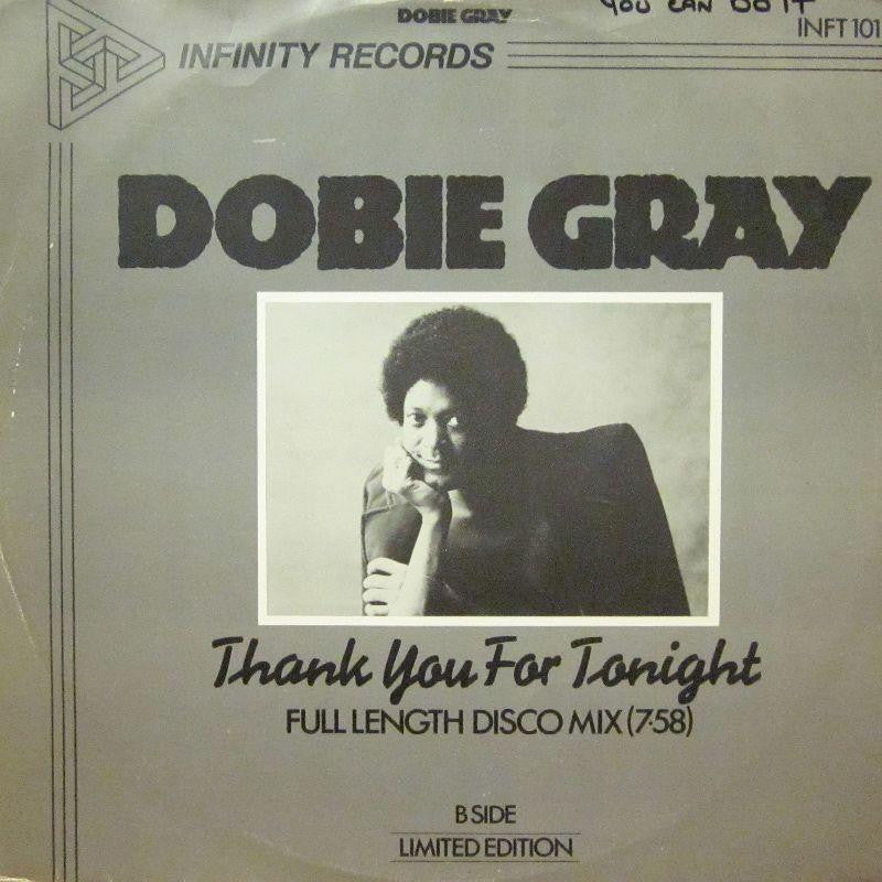 "Dobie Gray-Thank You For Tonight-Infinity-12"" Vinyl"