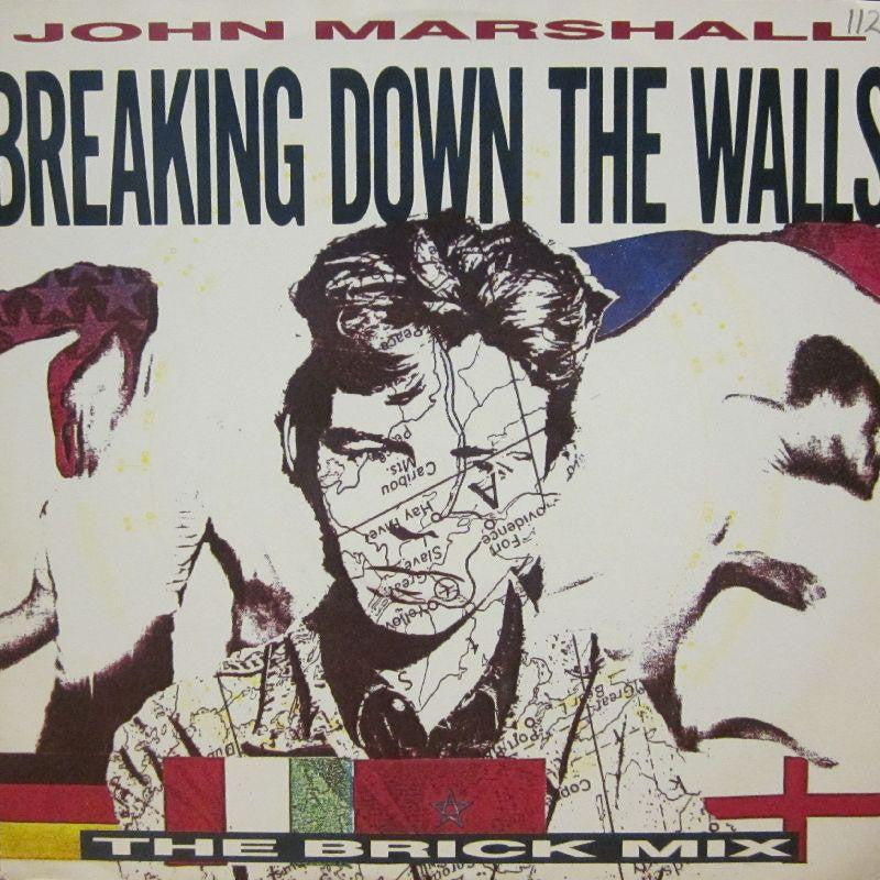 "John Marshall-Breaking Down The Walls-Wea-12"" Vinyl"
