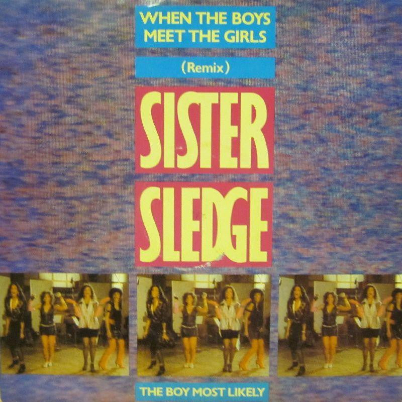 "Sister Sledge-When The Boys Meet The Girls-Atlantic-12"" Vinyl"