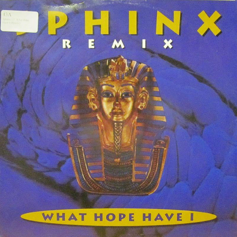 "Sphinx-What Hope Have I-Champion-12"" Vinyl"