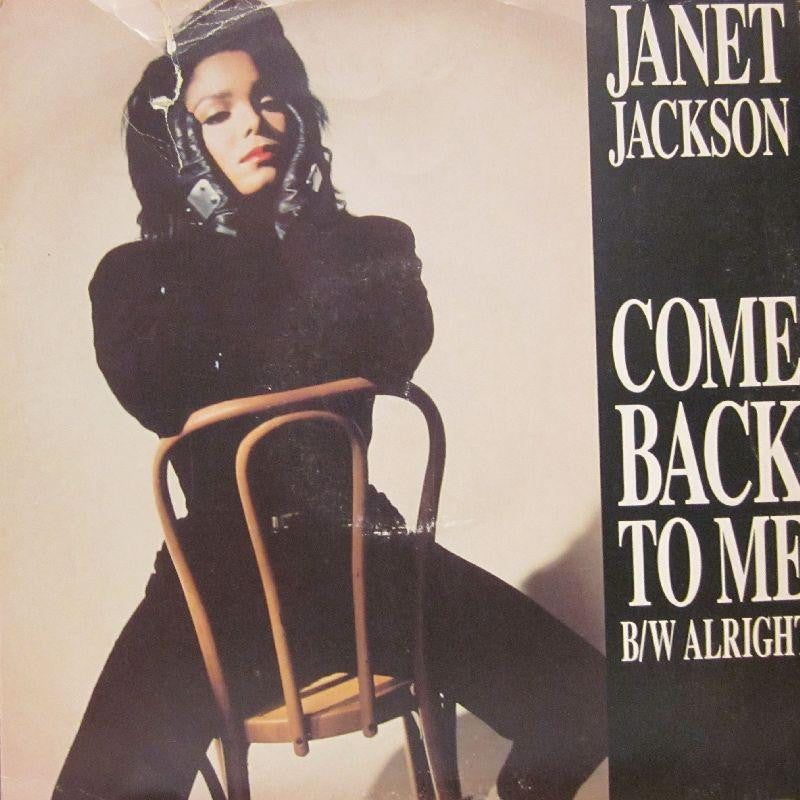 "Janet Jackson-Come Back To Me-A & M-12"" Vinyl"