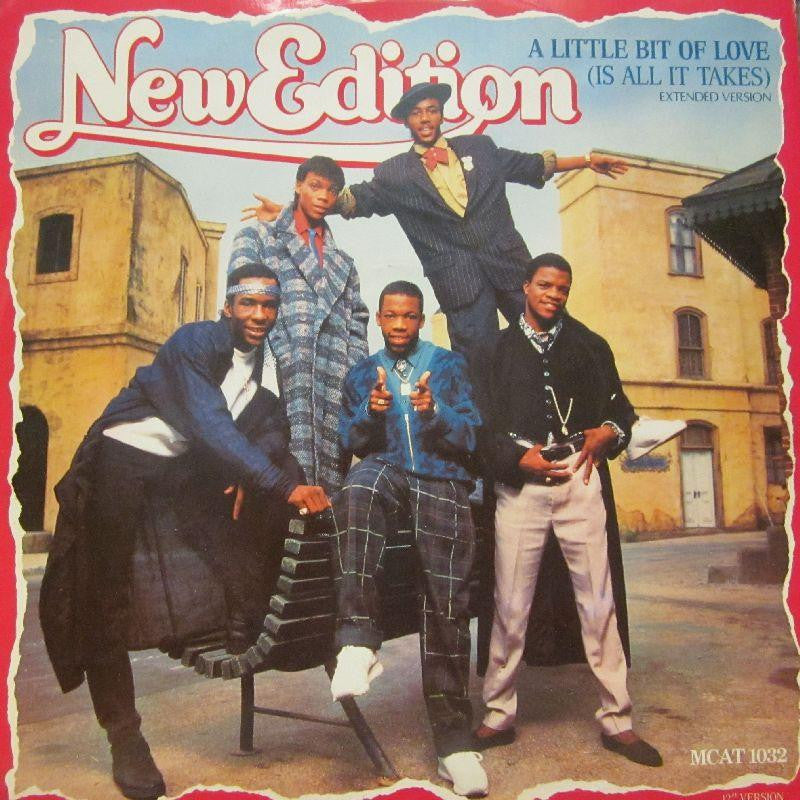 "New Edition-A Little Bit Of Love-MCA-12"" Vinyl"