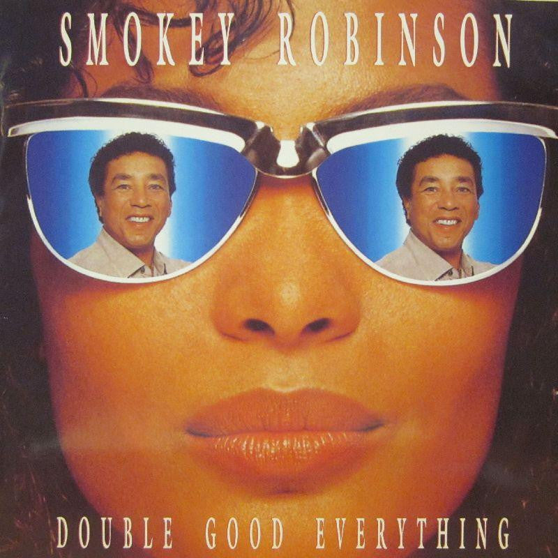 "Smokey Robinson-Double Good Everything-SBK-12"" Vinyl"
