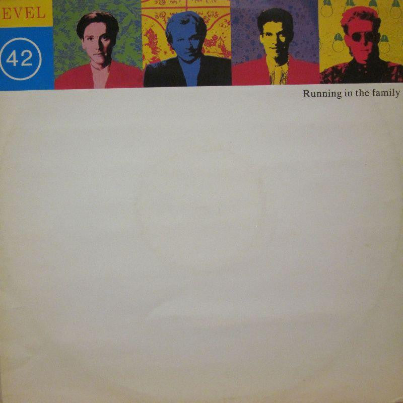 "Level 42-Running In The Family-Polydor-12"" Vinyl"