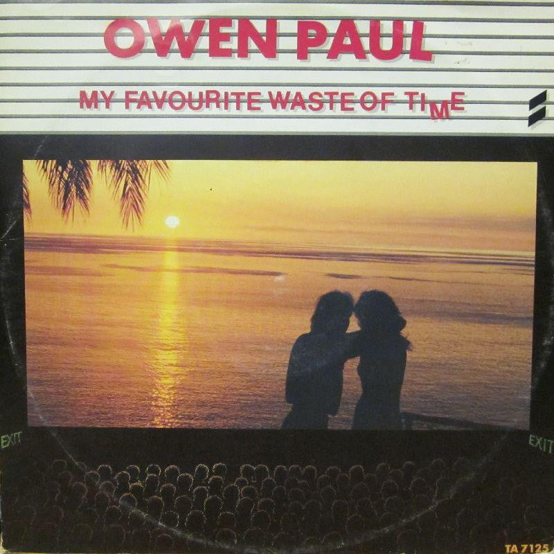 "Owen Paul-My Favourite Waste Of Time-Epic-12"" Vinyl"