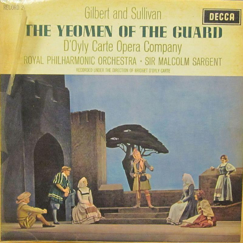 Gilbert And Sullivan-The Yeoman Of The Guard-Decca-Vinyl LP