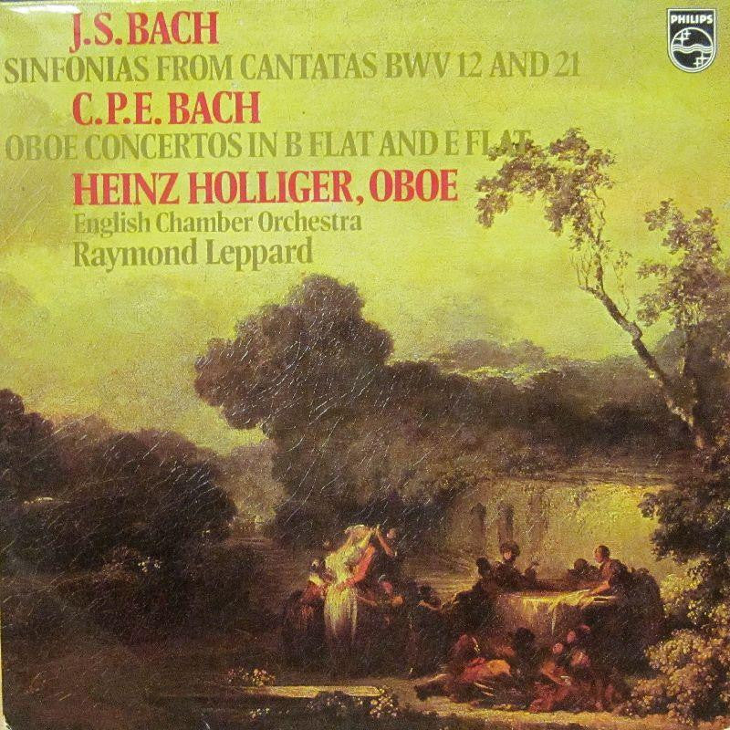 Bach-Sinfonias From Cantatas-Philips-Vinyl LP