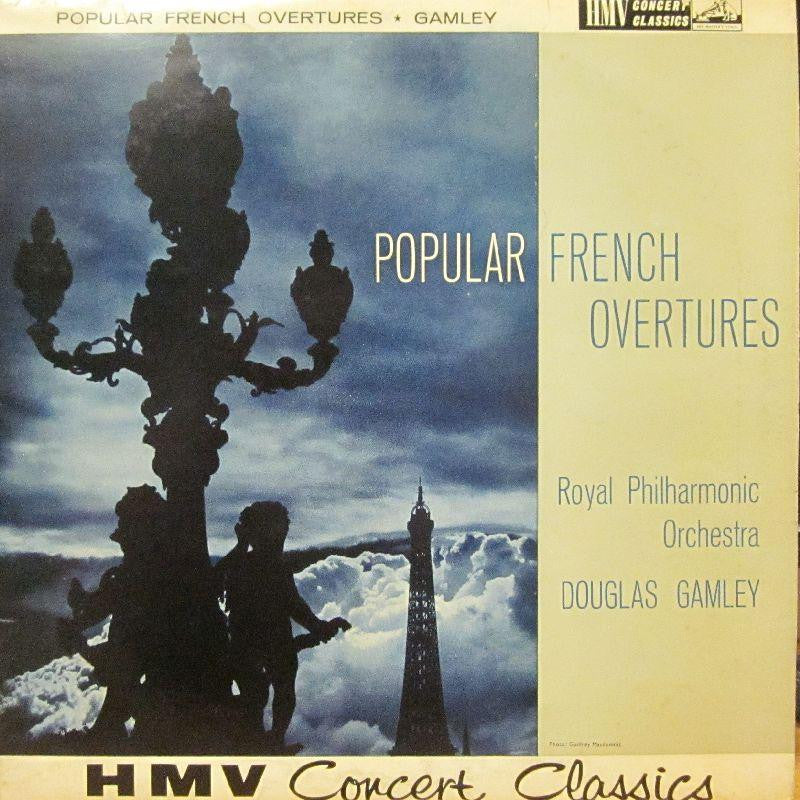 The Royal Philharmonic Orchestra-Popular French Overtures-HMV-Vinyl LP