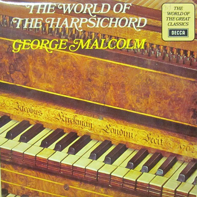 George Malcolm-The World Of The Harsichord-Decca-Vinyl LP