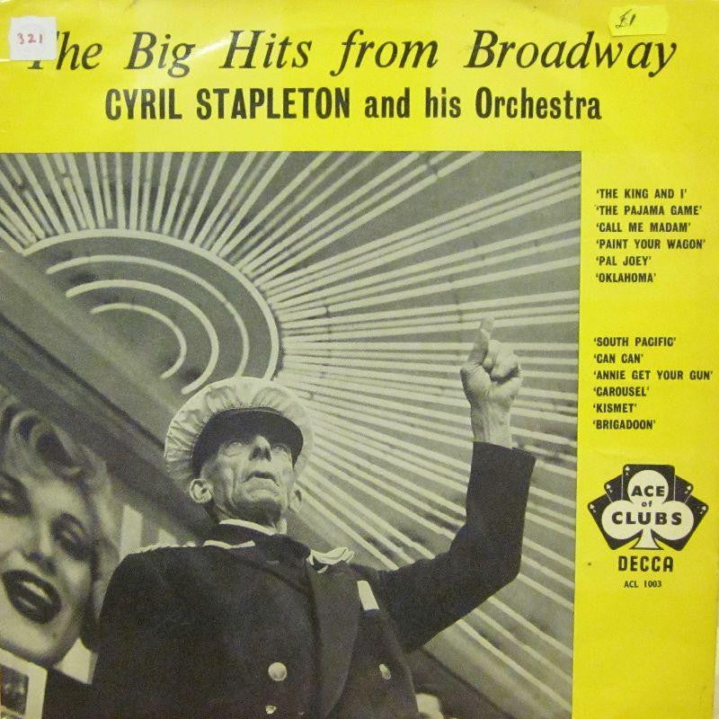 Cyril Stapleton & His Orchestra-Big Hits From Broadway-Decca-Vinyl LP