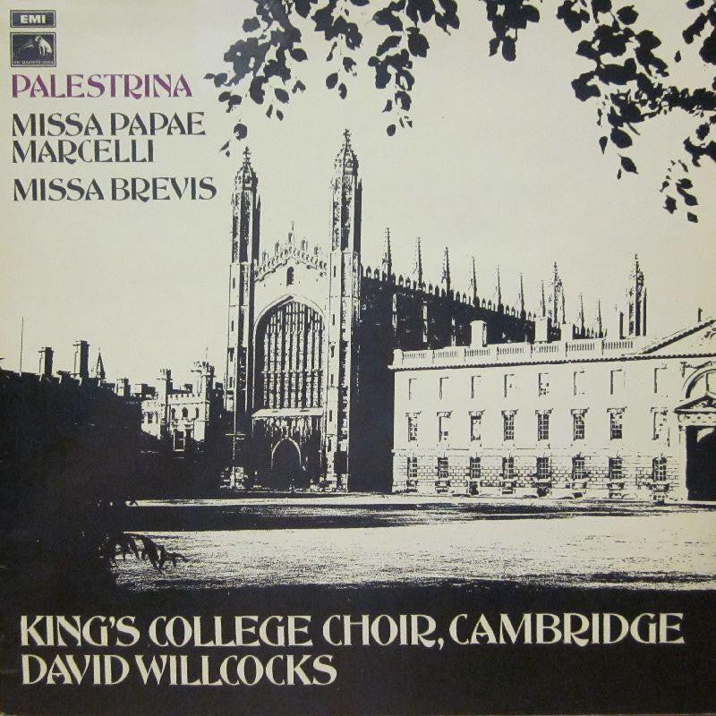 The King's College Choir, Cambridge-Palestina-EMI-Vinyl LP