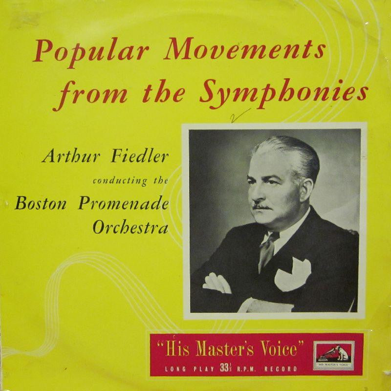 Arthur Fiedler-Popular Movements From The Symphonies-HMV-Vinyl LP