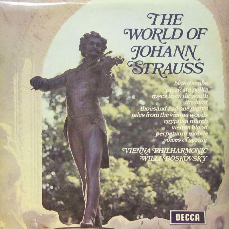 Strauss-The World Of-Decca-Vinyl LP