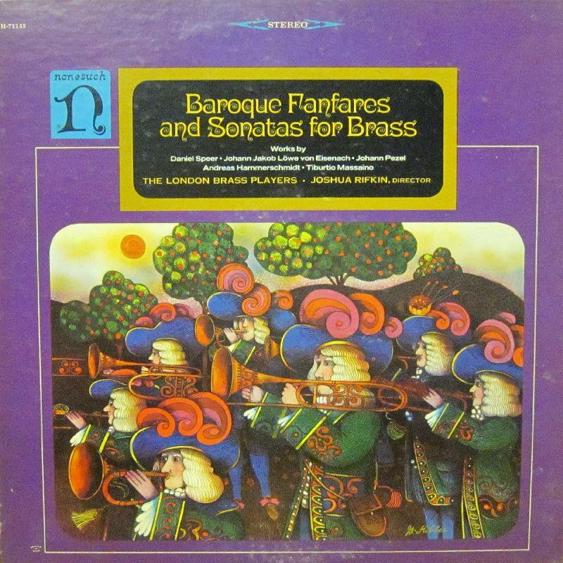 Baroque Fanfares And Sonatas-Nonesuch-Vinyl LP-VG/VG - Shakedownrecords