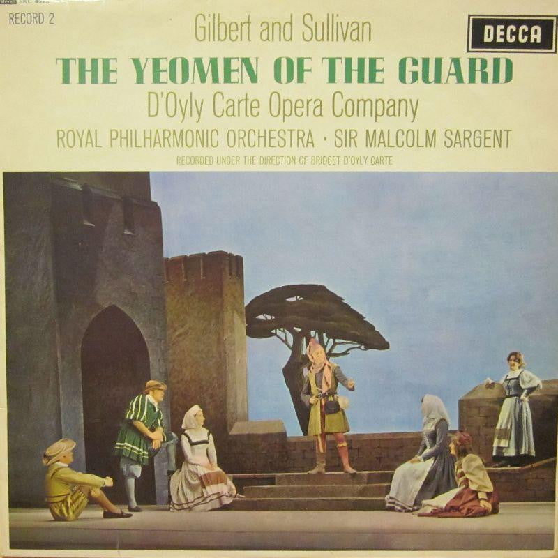 Gilbert And Sullivan-The Yeomen Of The Guard-Decca-Vinyl LP