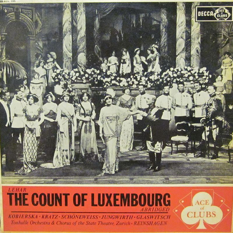 The Count Of Luxembourg-Decca-Vinyl LP-VG/VG - Shakedownrecords