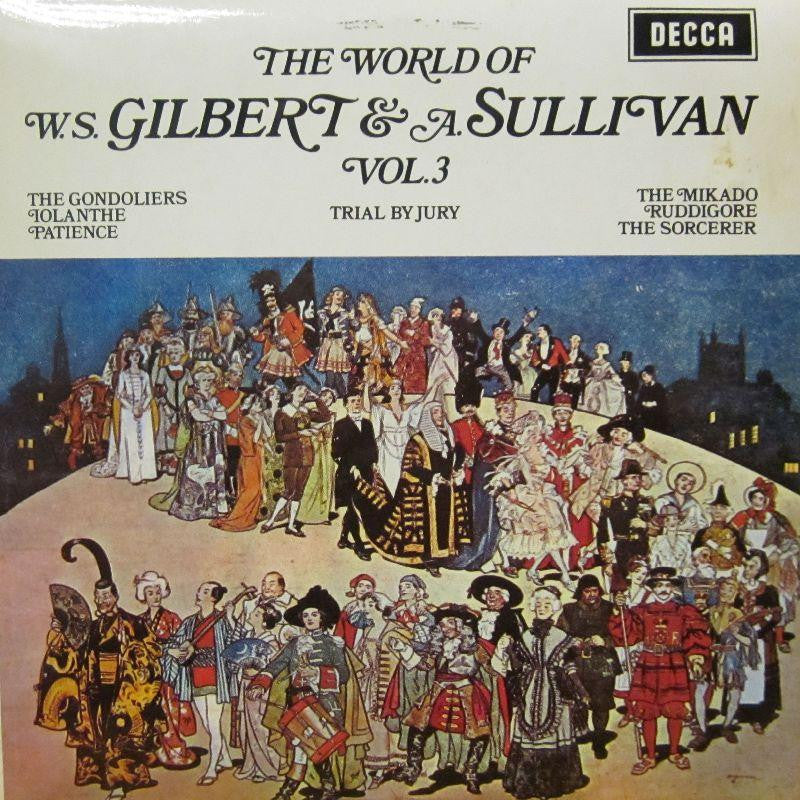 Gilbert And Sullivan-Vol.3-Decca-Vinyl LP