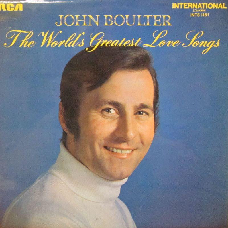 John Boulter-The World's Greatest Love Songs-RCA-Vinyl LP