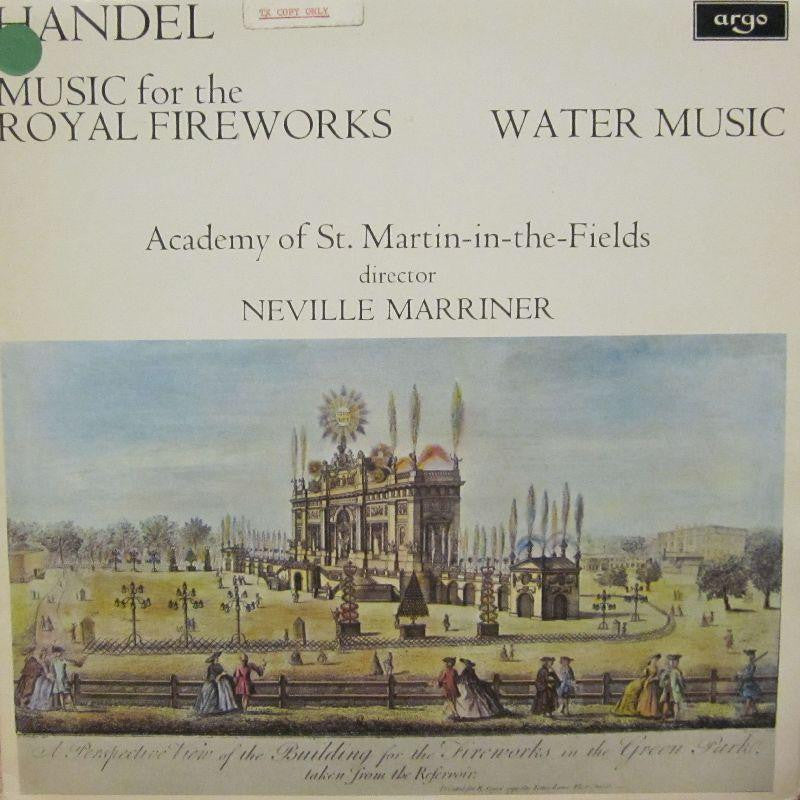 Handel-Music For Royal Fireworks-Argo-Vinyl LP