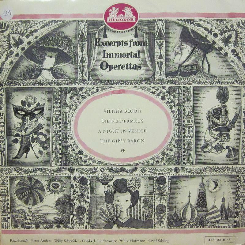 Strauss-Excerpts From The Immortal Operettas Of-Helidor-Vinyl LP