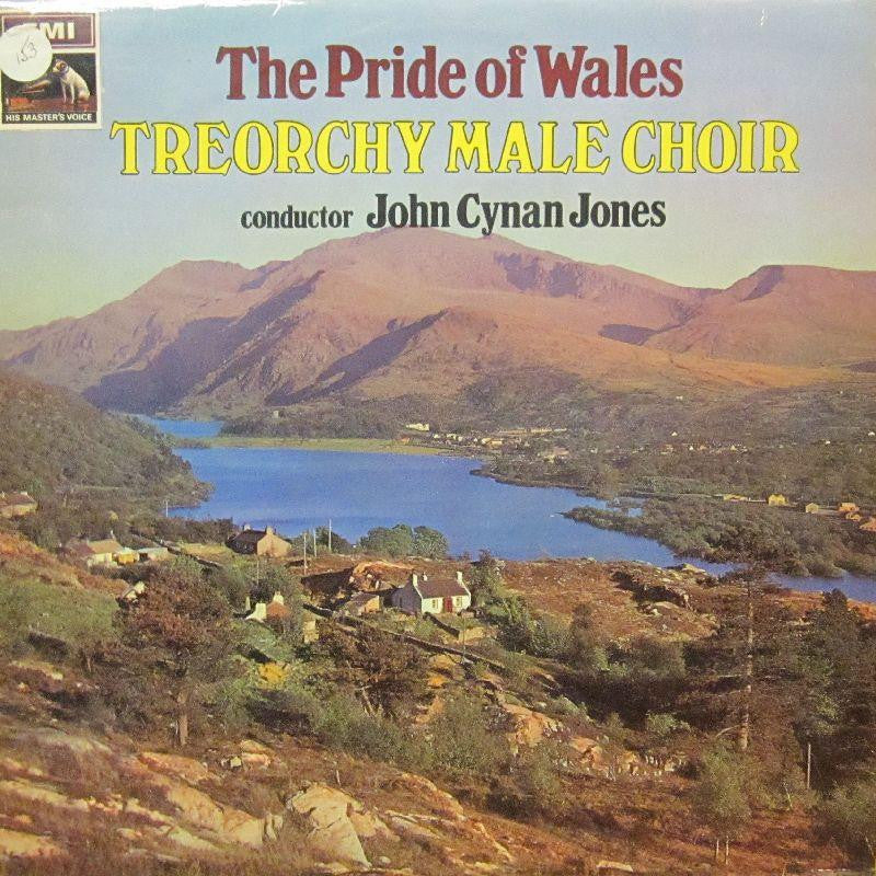 Treochy Male Choir-The Pride Of Wales-HMV-Vinyl LP