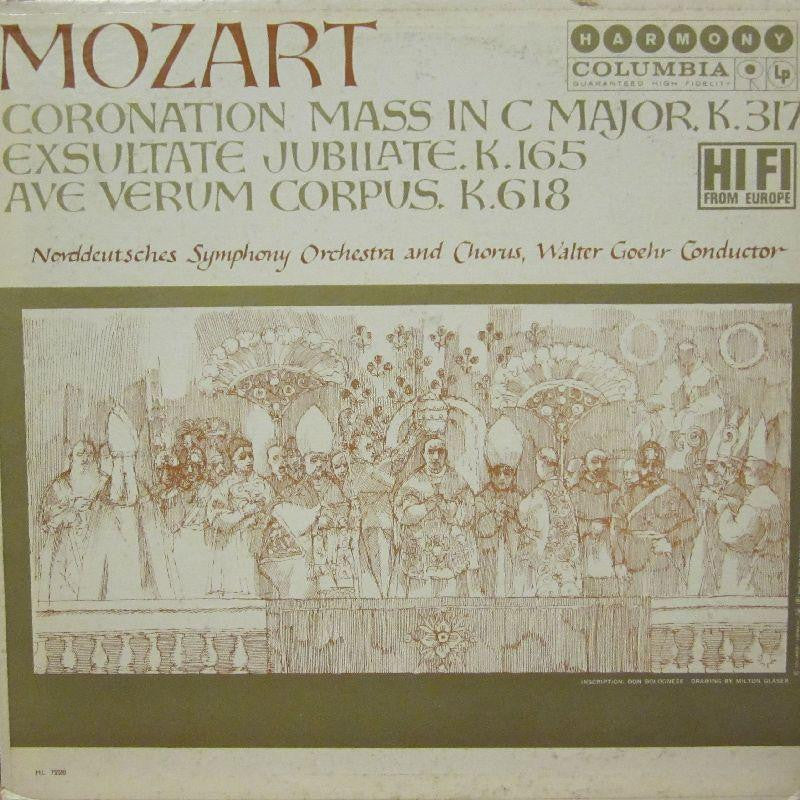 Mozart-Coronation Mass-Columbia-Vinyl LP