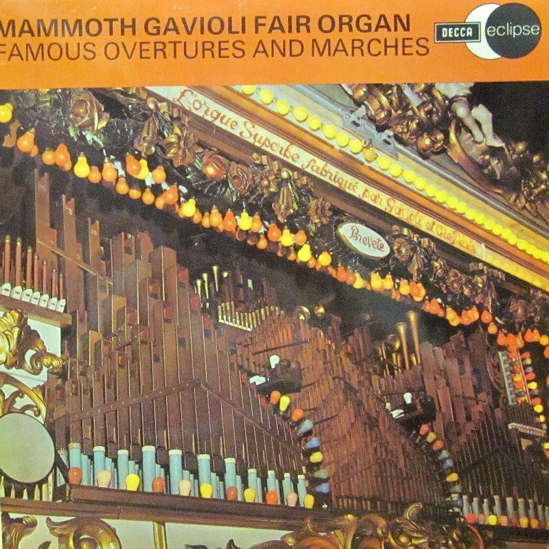 Mammoth Marengi Fair Organ-Famous Overtures And Marches-Decca-Vinyl LP