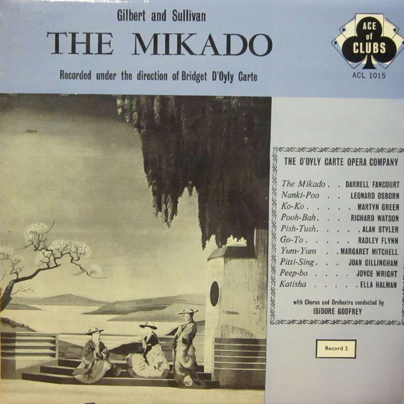 "Gilbert And Sullivan-The Mikado-Decca-2x12"" Vinyl LP"