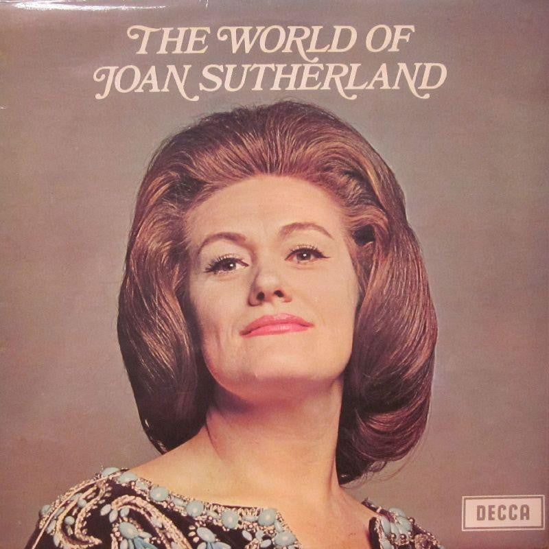 Joan Sutherland-The World Of-Decca-Vinyl LP
