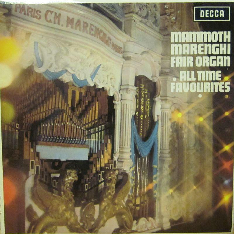 Mammoth Marengi Fair Organ-All Time Favourites-Decca-Vinyl LP