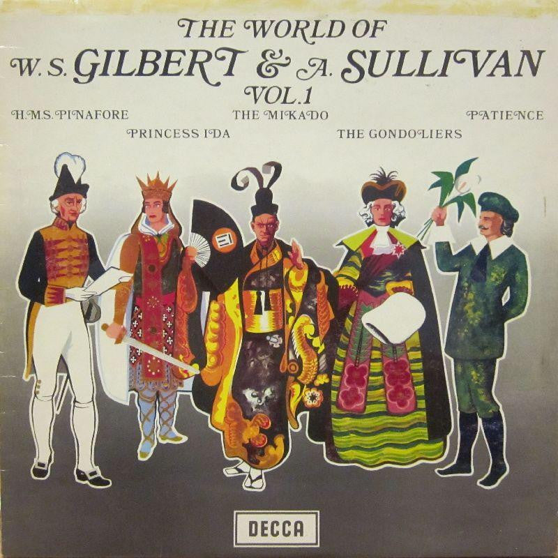 Gilbert And Sullivan-The World Of Vol.1-Decca-Vinyl LP