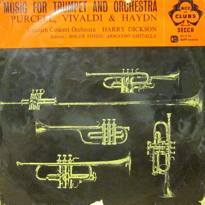 Purcell-Music For Trumpet And Orchestra-Decca-Vinyl LP