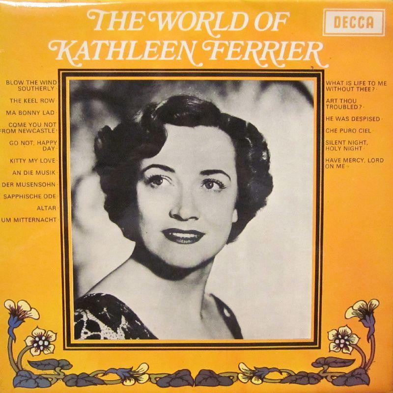 Kathleen Ferrier-The World Of-Decca-Vinyl LP