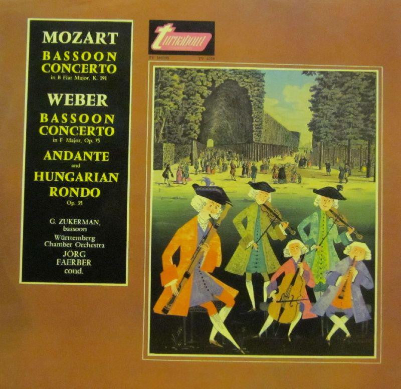 Mozart-Bassoon Concerto-Turnabout-Vinyl LP